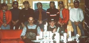 Autotester Ende der 70er im Hotel Silverhatten in Arjeplog